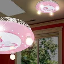 luminaire pour chambre licorne luminaire de plafond ø490mm led enfant pâle le