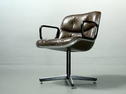 fauteuil de bureau knoll chaise de bureau par charles pollock pour knoll international 1960s