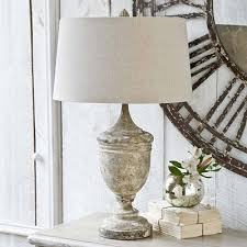 shabby chic wooden table lamps home ideas 2016