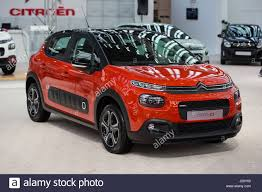 new citroen c3 belgrade serbia march 23 2017 new citroen c3 presented at