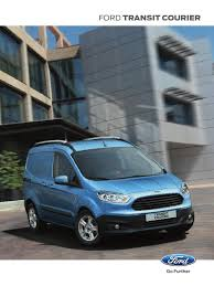 nueva ford transit courier