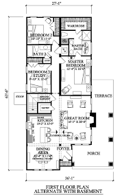 narrow lot house plans craftsman house plan 57064 at familyhomeplans