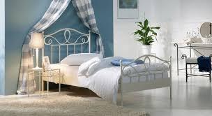 Schlafzimmer In Anthrazit Weise Metallbetten Hervorragend Mediterranes Metallbett In