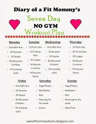 home work out plans the best ways for busy moms to look and feel great free workout