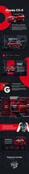 mazda website fresh ui concept for mazda promo site website design pinterest