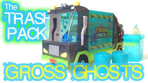 trash pack gross ghosts garbage truck halloween review october
