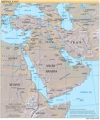 Map Of Persian Gulf Download Free Middle East Region Maps