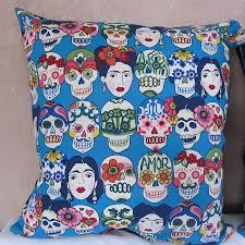 frida kahlo the dance cushion cover by twentysevenpalms