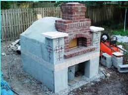 How To Build A Pizza Oven In Your Backyard The Brick Bake Oven Page