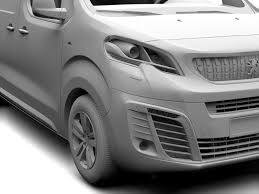 peugeot expert dimensions peugeot expert l3 2017 3d model vehicles 3d models base 3ds max