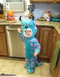 Sully Halloween Costume Toddler Sully Baby Costume