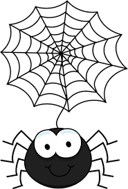 Spider Coloring Pages Spider In Spider Web Coloring Page Coloring Spider Web Coloring Page
