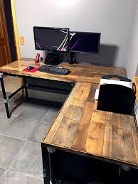 White Laminate Desk Diy Laminate Flooring Table Top Desk Simplified Building