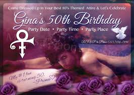 prince party invitation personalized prince party
