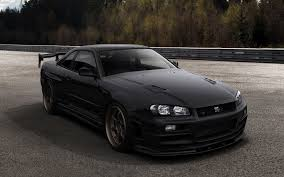 nissan skyline wheel size nissan skyline r34 black wallpaper http www gbwallpapers com