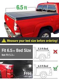 2005 dodge dakota bed amazon com premium tcd371014 tri fold tonneau truck bed cover