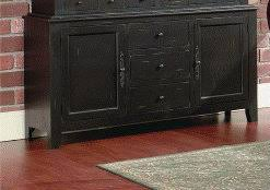 Black Buffet Server by Furniture Dining And Kitchen Hutches Buffets Servers