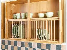 Kitchen Cabinet Dish Rack Cabinets Dishes Pots Pans Skillets Dish Drying Racks Kitchen