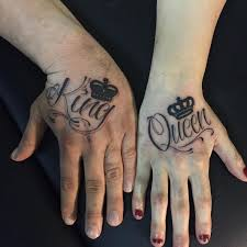 50 king and queen tattoos for couples 2018 page 4 of 5