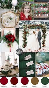 best 25 december wedding colors ideas on pinterest maroon