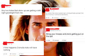 How To Put Memes On Facebook Comments - yeah the boys facebook event targets women with abuse rape threats