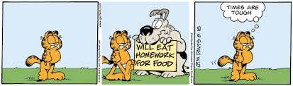garfield comic strip tv tropes