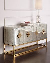sideboards astonishing mirrored buffet console lightning your