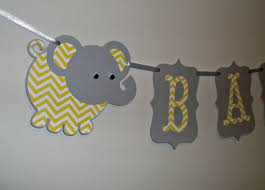 yellow and gray baby shower decorations elephant baby shower supplies yellow and gray welcome baby