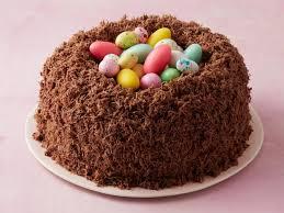 cake photos chocolate malt nest cake recipe food network kitchen food network