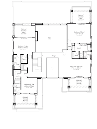 home plans with two bedrooms downstairs