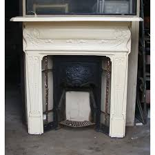 how to restore a cast iron antique fireplace