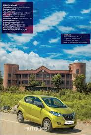 nissan micra price in nepal datsun redigo test drive review autolife nepal