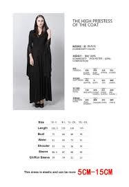 halloween costumes xxxl wholesale punk womens long dress priestess witch cosplay costume