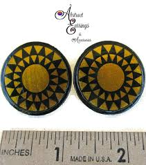 black earrings studs celestial gold earrings stud earrings abstract earrings black
