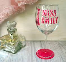 wine glass gifts gift ballet flats personalised wine glasses gift
