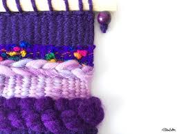create 30 no 2 mini woven wall hangings eliston button