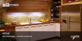steinwand küche impressionen küche innenausbau ambiente stones gmbh