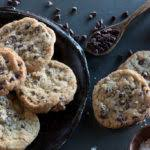 crispy chewy chocolate chip cookies bake love give