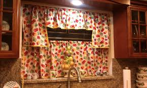Orange Kitchen Curtains by Designed By Diana Kitchen Curtains