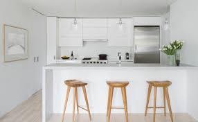 decorer cuisine toute blanche couleur cuisine la cuisine blanche de style contemporain ideeco