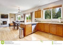cuisine au miel cuisine granit beige