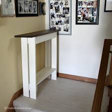 Entry Console Table Diy Entry Console Table The Painted Cottage