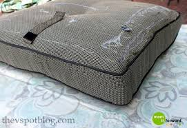 Diy Patio Cushions Awesome Tutorial Easy Patio Cushion Covers Blogging From Bliss