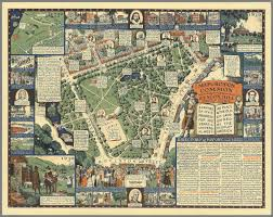 Map Of Boston by Boston Common With Surrounding Streets U0026 Adjacent Parts Of Beacon
