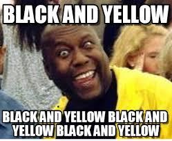 Yellow Meme - rawr black and yellow on memegen
