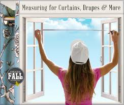 Curtain Drapes How To Measure For Curtains Drapes U0026 Other Window Coverings