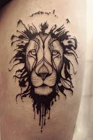tattoos of lion heads lion publications