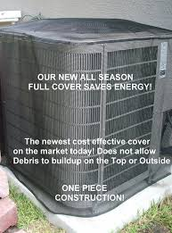 Exterior Central Air Conditioner Cover - amazon com air conditioner summer full cover 36x36x36 black home
