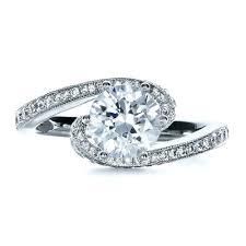 twisted shank engagement ring twisting shank engagement ring vanna k 1401