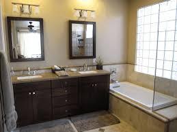 new small bathroom monochrome bath curtain metal bucket trash can